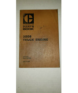 Caterpillar Cat 3208 Truck Engine Parts Catalog Manual Book S/N 40S1-Up - $24.78