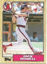 Baseball Card- Jack Howell 1987 Topps #422 - $1.28