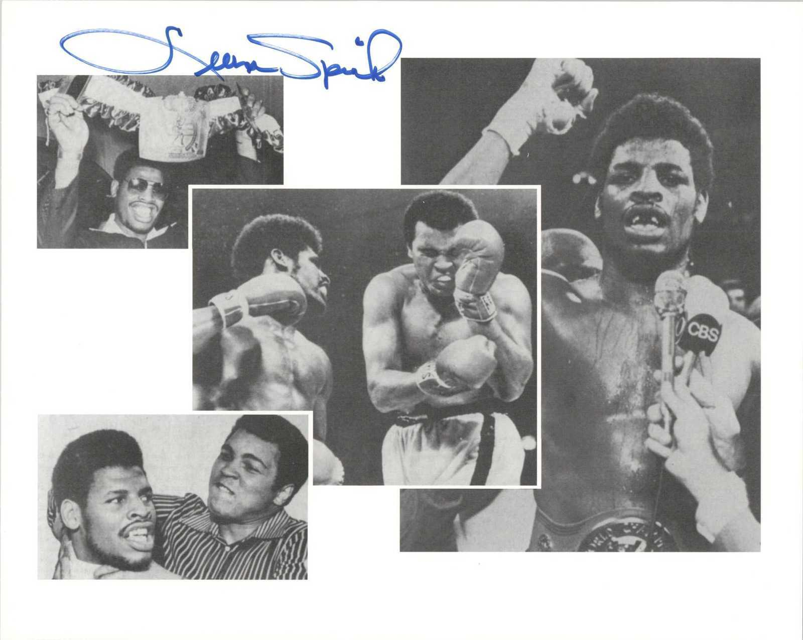 Primary image for Leon Spinks Signed Autographed Glossy 8x10 Photo