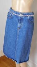 Ralph Lauren Polo Jeans Women's Denim Skirt Size 6  - 100% Cotton - Straight - $10.44