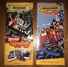 Kennywood Park Lot Of 2. 2014,16 Brochure guidemaps.    KC - $2.97