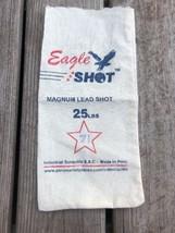 EAGLE SHOT 8-1/2 MAGNUM EXTRA HARD LEAD SHOT 25 LB BAG GREAT COLORS MADE... - $13.09