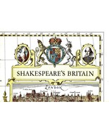 Shakespeare's Britain (Poster Map of Britain 19 x 25) - $4.95