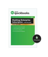 QuickBooks Enterprise 2021 Gold. 7 User (Unlimited Support) 1 Year Subsc... - $3,590.40