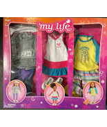 """My Life 18"""" Doll Clothes 3 Pc Outfits NEW Tennis Player Marathon Runner ... - $29.99"""