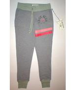 New Womens Designer True Religion Skinny Sweat Pants Green Gray XS NWT J... - $33.60