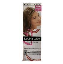 Vtg 90s Clairol Loving Care Color Creme Hair Dye 775 Smokey Ash Brown 3oz New - $24.75