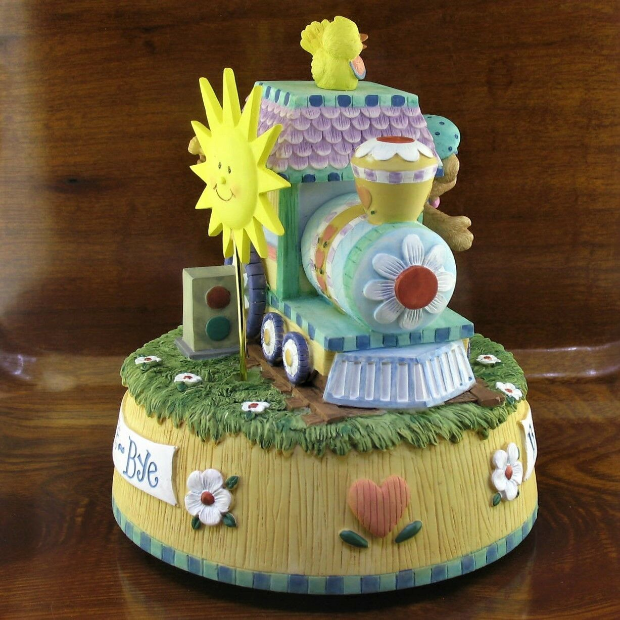 San Francisco Music Box Co Disney Song of The South Animated Train Music Box