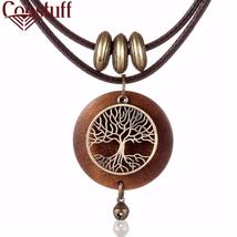 COOSTUFF Vintage Wooden Tree Of Life Handmade Necklace / Pendant - Ladie... - $8.50