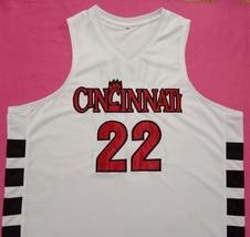 Steve Logan Cincinnati Wildcats White College Jersey Any Size Free Wwjd Bracelet - $29.99