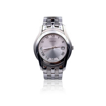 Authentic Gucci Vintage Silver Stainless Steel 5500 M Wrist Watch - $423.72