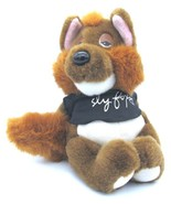 "Applause SLY FOX Vintage Stuffed Animal all Plush Toy 10"" tall  - $19.79"