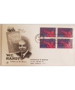 First Day Cover Sesquicentennial Memphis Series WC Handy Father of Blues 1969 - $3.95