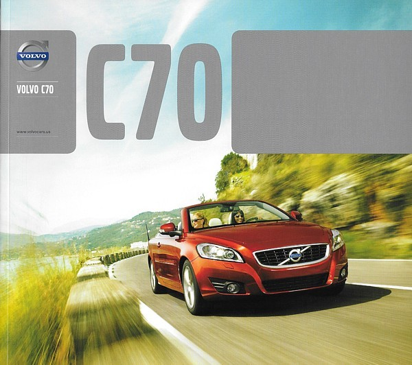 2013 Volvo C70 sales brochure catalog 1st Edition 13 US T5 Premier Plus Platinum