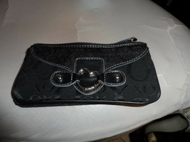 XOXO black clutch wallet - $13.50