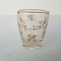 Shot Glass Key & Fleur De Lis Pattern Design Drinking Glass - $15.51