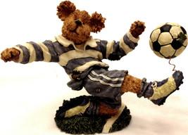 Boyds Bear Bearstone Chris Striker...Score!  1E FIRST, LOW PC #634, Pris... - $19.95
