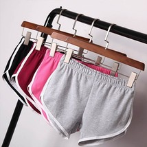 FOREVER Women Summer Sports Pants Gym Workout Waistband Skinny Short A28541 - $6.00