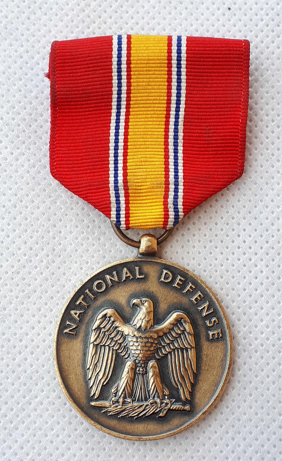 Primary image for United States Navy Army, AIR FORCE MARINE National Defense Medal !