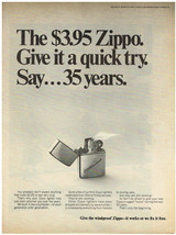 Vintage 1967 Magazine Ad For Zippo Lighter We Build It Like A Bulldozer Strong - $5.93