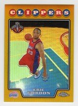 2008-09 Topps Chrome Eric Gordon RC GOLD Refractor #41/50 - $129.99