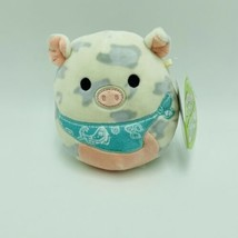 "Squishmallows Rosie Pig Bandana 5"" Easter Stuffed Animal Kellytoy NWT - $13.99"