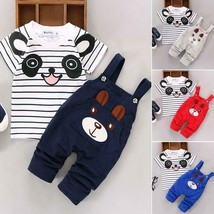 UNISEX Toddler Newborn Infant Summer Outfit Clothes Short Sleeve Overall... - $10.21