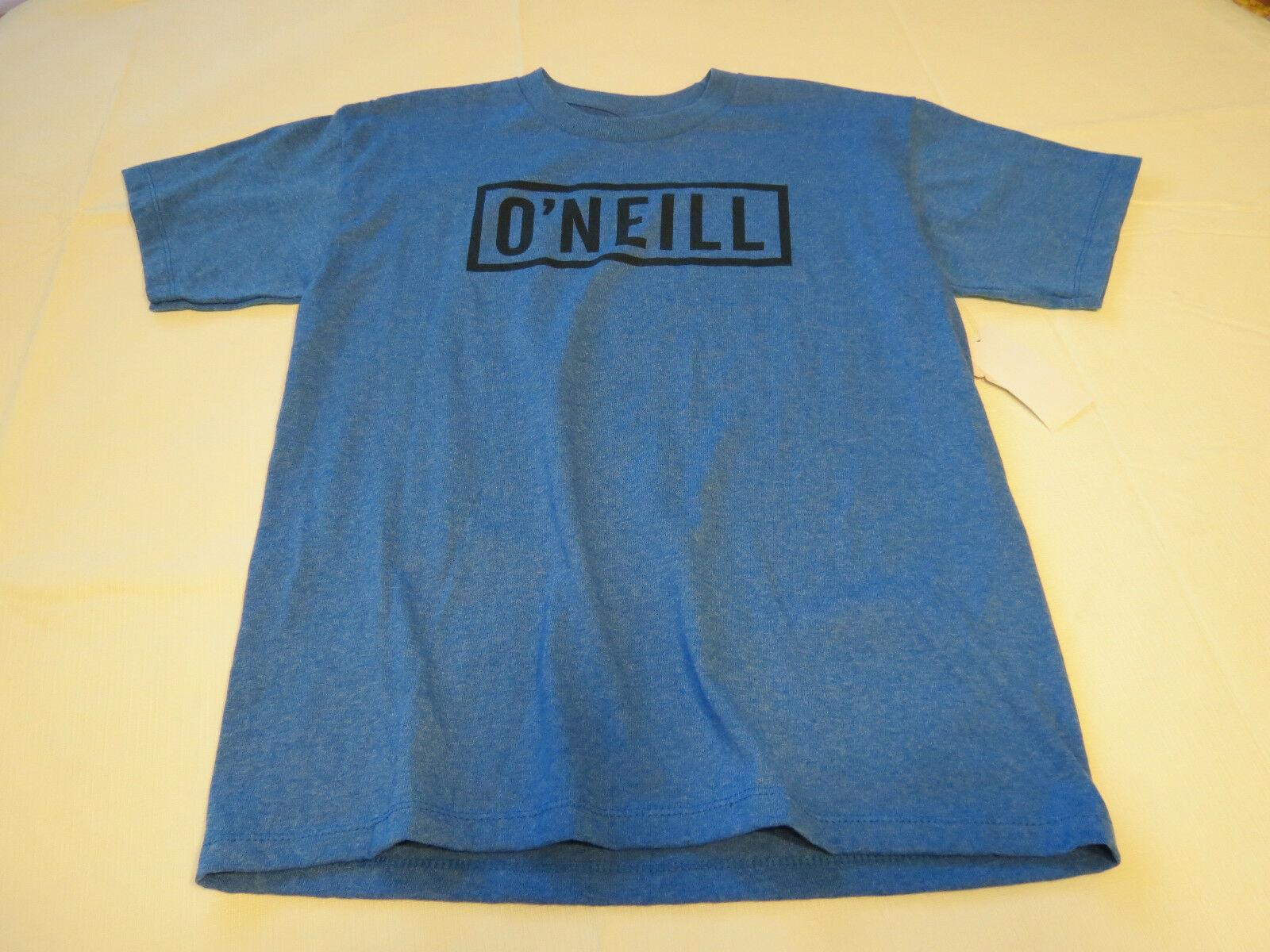 Boys youth O'Neill surf skate XL Block T shirt Youth TEE SBZ blue hthr SU6218403