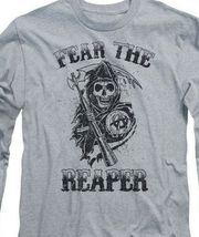 Sons of Anarchy Fear the Reaper graphic long sleeve t-shirt SOA124 image 3