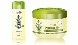 TianDe Master Herb Anti-hair loss shampoo and Hair-Loss Reversal Cream B... - $53.00