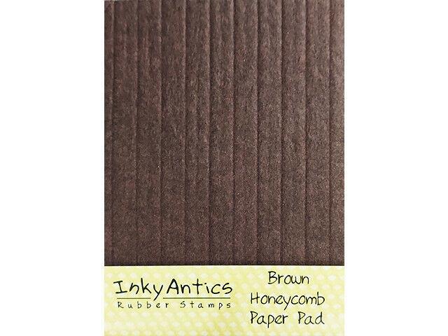 Inky Antics Light Brown Honeycomb Paper Pad #HCP-BRN
