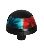 Attwood Pulsar™ 1-Mile Deck Mount Bi-Color Red/Green Combo - 12V - Black... - $29.75