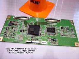 Sony KDL-V32XBR1 T-Con Board LJ94-00905F - $25.00