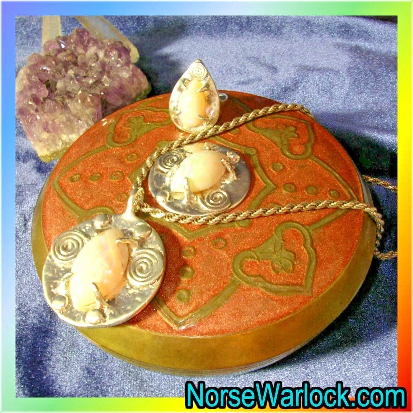 Primary image for Magick Legacy Life Giver & Protection Suite! Ring, Necklace & Charging Box! OOAK