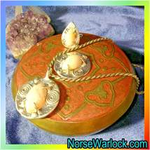 Magick Legacy Life Giver & Protection Suite! Ring, Necklace & Charging Box! OOAK - $39,999.99