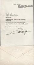 JOHN WAYNE Autograph on personal letter, inluding envelope. A beauty. - $1,088.01