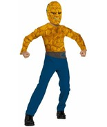 OFFICIAL FANTASTIC 4 BEN GRIMM THE THING BOYS HALLOWEEN COSTUME CHILD SI... - $23.02