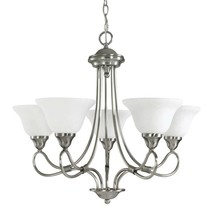 New** Kichler 2557AP Stafford Chandelier In Antique Pewter Free Shipping - $121.86