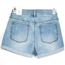 PacSun Rebecca Blue Denim Medium Indigo Shortie Shorts Size 27 New w Tags image 2