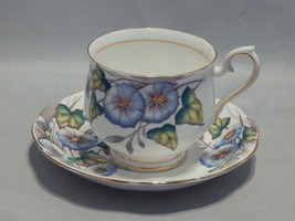 Royal Albert Flower of the Month Morning Glory Cup and Saucer Set - $12.87
