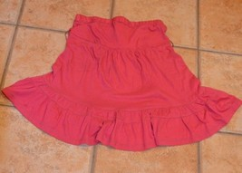 ABERCROMBIE & FITCH ROSE RED BANDEAU TOP RUFFLED DRESS WOMEN XS NEW - $12.60