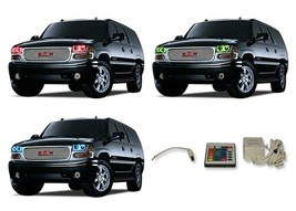 for GMC Yukon 01-06 RGB Multi Color IR LED Halo kit for Headlights - $137.91
