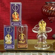 96 Gifts By Fashioncraft, Lucky Golden Buddha Key Chains - $125.74
