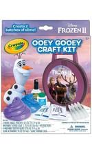 Disney Frozen II Ooey Gooey Craft Kit by Crayola - 2 Slime Kits In Box, New! - $14.85