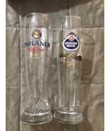 Germany Beer Glass Set: Paulaner Munchen & Schneider Weiss Pilsner Style - $29.99