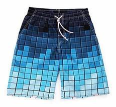 PANDA SUPERSTORE Cool Design Beach Swim Shorts Quick Dry Board Shorts for Men