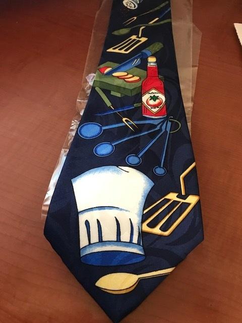 NEW novelty necktie Kitchen utensils  image 3