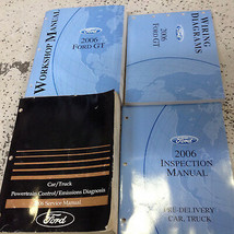 2006 Ford GT Workshop Service Shop Repair Manual SET W EWD + PCED INSPEC... - $197.95