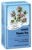 Thyme Herbal Teabags 15 filterbags (2g) - $3.70