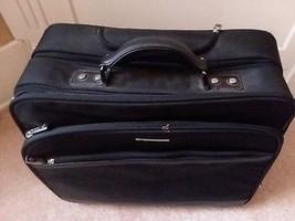 Samsonite Black Mobil Office Rolling Travel Laptop Case image 2
